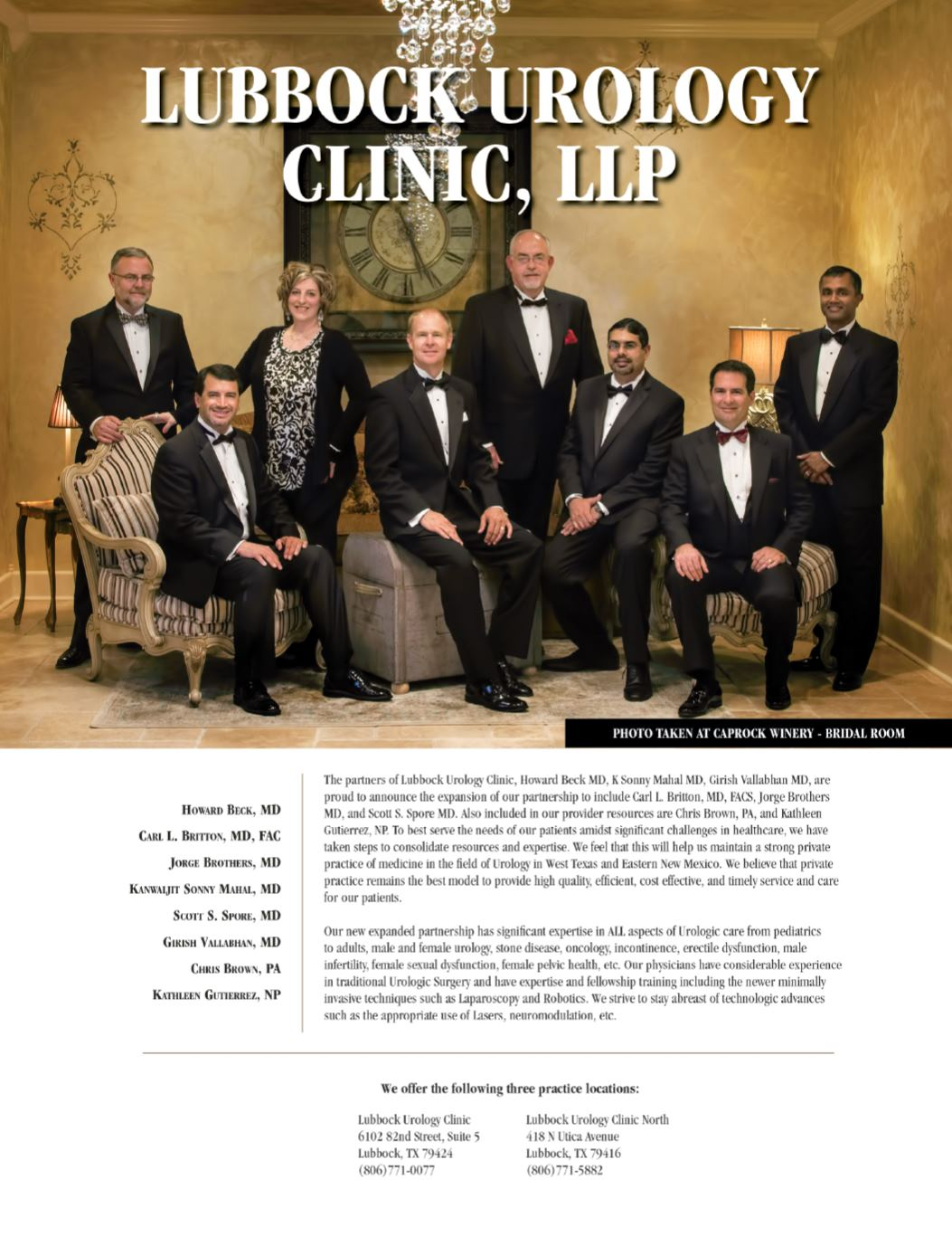 Lubbock Urology Clinic, LLP